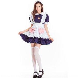 fS2FC New Wansheng cos stage costume cute shop assistant uniform love maid clothes New clothing Wansheng clothing cosplay stage play costume