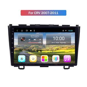 9 polegadas Android Radio 9,0 Car Multimedia Player 2 Din Car Audio Navegação GPS para Honda CRV 2007-2011 Wifi Bluetooth Espelho Fazer a ligação FM USB
