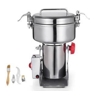 NEW Household 1000G High Speed Electric Herb Coffee Beans Grain Grinder Machine Cereal Flour Mill Herb Grinder