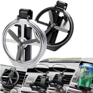 Car Creative Folding Fan Cup Holder Clip on Air Conditioner Beverage Rack Universal Car Air Outlet Drinks Holders