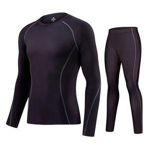 Lidong Yeni Spor Suit Erkekler Koşu Homme Survetement Eğitim Seti Giyim Erkek Sıkıştırma Gömlek Pantolon Seti Eşofman Running