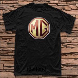 Nouvelle MG britannique Badge Automobile classique vintage Logo T-shirt