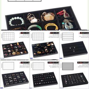 plaque anneau de table simple Dressing Boucle d'oreille boîte de rangement domestique bracelet Dressing boxbracelet stockage de table fille oreille Nail Box