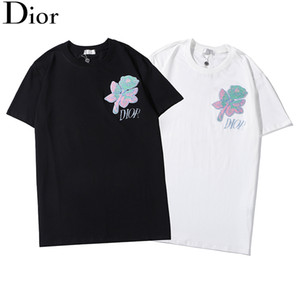 2020 New Mens T Shirt High Quality Men and Women Couples Casual Short Sleeve MensDİORRound Neck Tees Free shipping #12