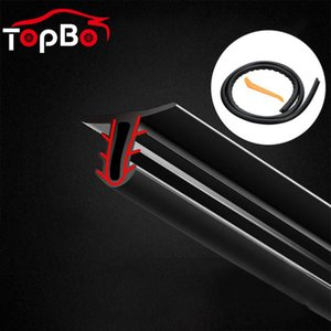 utomobiles & Motorcycles 1.6M Car Rubber Sound Seal Strip U Type Car Windshield Sealant Dashboard Soundproof Rubber Seal Strip Interior A...