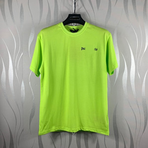 Beauty tide PALM simple letter 7 color shirt PA casual sports loose round neck short sleeve T-shirt men and women