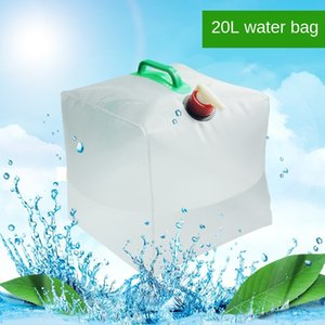 Outdoor Tourism 20L bucket bag with faucet Outdoor Tourism 20L folding bucket folding bag with faucet Kettle kettle