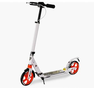 2020 New arrivaled City fashion two wheel scooter adult folding design portable Scooter 3 adjustable gears black white bearing 120K 4nSl#