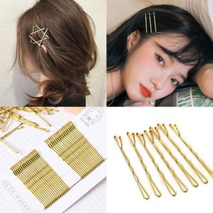 Korean Golden Silver diy bangs hairpin hairpin hairpin side clip lolita Korea