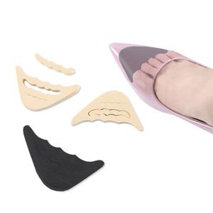 2PCS Forefoot Insert Pad pour femmes chaussures Toe Plug-Half Chaussures Pieds éponge Coussin de remplissage Semelles Pieds de réglage