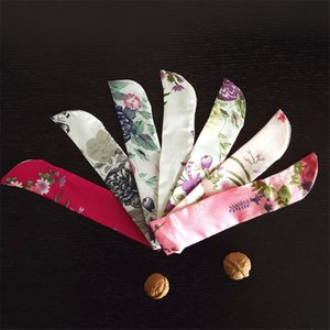New product Wholesale Chinese Silk Folding Hand Fan Pouch Chopstick Cover Case Festive & Party Supplies YT0050