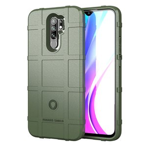 Full Coverage Luxury 3D Box Super Armor Phone Case for Redmi 9 Cover Shockproof Silicone TPU Cover