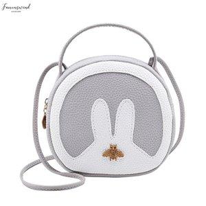 Fashion Candy Color Cute Rabbit Mobile Phone Women Bag Messenger Purse Handbag 2020 New Korean Version Feminina 6 Colors