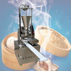 Hot / 500-2400pcs / h Gewerbliche Automatik gedünstet Füllung Bun Machine Gefüllte Bun Maker Momo Baozi Füllung Maschine für Dose