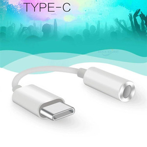 Type C Earphone Audio Cable Adapter Type-C to 3.5 mm simulating signal Earphone Audio Aux Adapter