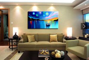 Açık Tuval Wall Art Canvas Resimler 200.727 Boyama Büyük Modern Soyut Sanat Tekne Duvar Dekor Handpainted HD Baskı Yağ