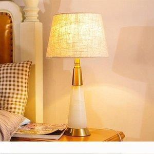 Современный натуральный мрамор настольная лампа модель Гостинная стол комнатное освещение металлическая основа настольная лампа LR018
