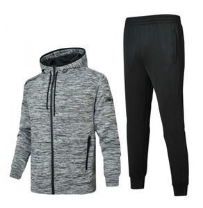 Mens Tracksuits 2020 Windbreaker + Pants Sports Running Set College High Street Style Kits Casual Fashion Suits Coat Pant