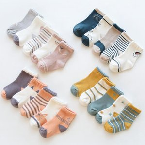 Infant Baby Socks Autumn Baby Girls Socks Cotton Newborn Boy Socks Cartoon Toddler Children Footwear Baby Clothes Accessories DW4810