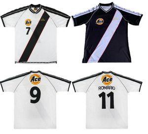 Retro 2000 Vasco da Gama soccer jerseys CR Vasco da Gama home Retro Football Camisetas Classic Shirts Kit