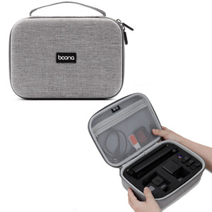 Boona Portable Small EVA Hard Hand Pouch Bag for GoPro Camera Pouch Bag Camera Accessories Travel Bag for DJI osmo action Camera