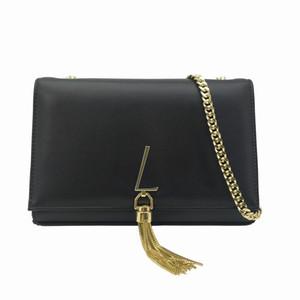 Mode Femmes Sacs Kate Sacs Sacs Pure Gold Chaîne Bandbody Sacs Haute Qualité Cuir Sacs Pochettes Tassel Totes Sac Messenger Sacs à dos
