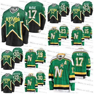 Minnesota North Stars Heritage Vintage Personalizado Jerseys Basil Mcrae Ben Bishop Bill Masterton Bobby Smith 23 Brian Bellows HÓQUEI costurado
