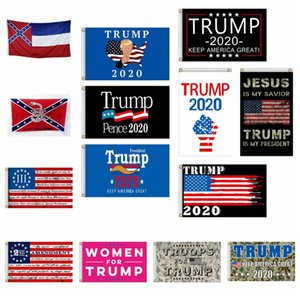 90*150 USA President Election Flag Camo Donald Trump 2020 Keep America Great President Banner Flag American Election Support Flag RRA3386