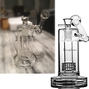 Mobius Matrix Glass Dab Rigs Bulid A Bongs Small Mini Perc Glass Water Pipes Tornado Bong For Chicha Smoking 18MM Joint