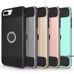 Big Promotion Phone Cases Clean Up Inventory Hybrid Defender Rugged Shockproof Case Cover With 360 Rotation Kickstand For iPhone 8 8plus