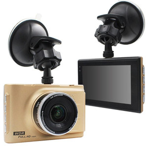 L'alta qualità MINI 2.0 pollici A10 170 gradi 1080P LCD videocamera In Car DVR Incidente stradale registratore MI 3.0LTPS Nero / Oro