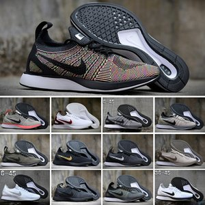 2020 Zoom Mariah Fly Racer 2 Women Mens Athletic all black red green Casual Shoes weaving Zoom Racer Sneaker Trainers