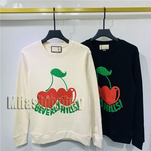 2020 Mode Automne Hiver Europe Italie Beverly Hills Vintage Cherry Pull à capuche Homme Femme Sweat-shirt à capuche