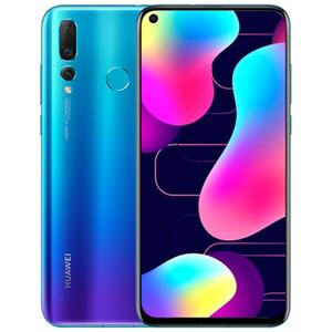 Original Huawei Nova 4 4G LTE Cell Phone 8GB RAM 128GB ROM Kirin 970 Octa Core Android 6.4 inch Full Screen 48MP Face ID Smart Mobile Phone