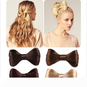 New Fashion Big Bow Ties Wig Hairpin Hair Bow Clips Women Girls' Hair accessories Bridal Hair