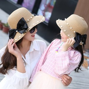 Girls butterfly ' sun fashion parent-child children's cute butterfly hat travel sunscreen beach hat