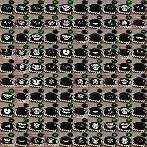 Breath Grimasse Halbmaske Schädel Glow Skeleton Gesicht Breath Grimasse Fashionmia Verkauf Schönheit und beste Schnelle Lieferung PIBgl Maske Lächeln