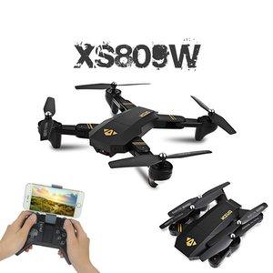 Visuo XS809W XS809HW Quadcopter Mini Foldable Selfie Drone with Wifi FPV 0.3MP 2MP Camera Altitude Hold RC Dron Vs H47 E58