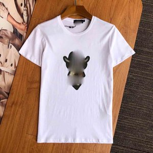 new Luxury Mens Designer T Shirt Mens Clothing 3D Orangutans Summer T Shirt Hip Hop Men Women Short Sleeve Medusa T Shirts