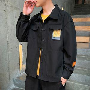 Coat men's autumn 2020 new Korean casual fashion handsome sportswear jacket sportswear autumn fashion jacket men's sports clothes