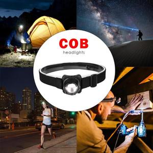 Noite Pesca Camping Super Bright Head Lamp ajustável com bateria 1x600mah Polymer Lithium-Ion Battery