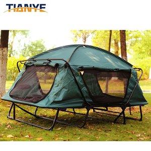 التخييم في الهواء الطلق خارج الأرض سرعة خيمة ملاجئ مفتوحة تسلق الجبال الصيد نزهة الأمواج الشاطئ خيمة الظل ماء مزدوج