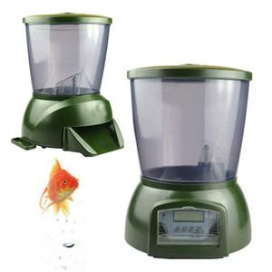 4.25L Otomatik Pond Balık Besleyici Dijital Tank Pond Balık Gıda Zamanlayıcı