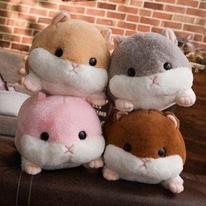 Çocuklar Noel Hediyesi MX200716 için 50cm Sevimli Hamster Fare Peluş Oyuncak Doldurulmuş Yumuşak Hayvan Hamtaro Yastık handwarmer Güzel Çocuk Bebek Oyuncak