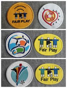 Souvenirs nuovo retro europeo 1996 200 2004 Euro patch di calcio stampare i campioni distintivi, Calcio timbratura calda Patch Badge