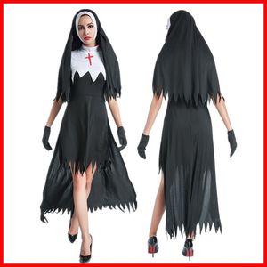 Nuovo Halloween nun bar costume dsstage costume cosplay nv fu Zhuang nv fu Zhuang abbigliamento Barmaid di ruolo uniforme