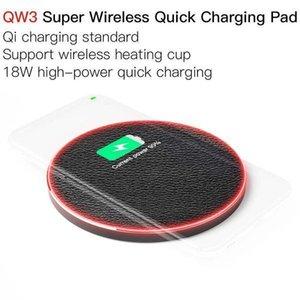 JAKCOM QW3 Super Wireless Charging Pad rapida Nuove cellulare caricabatterie da auto islamico appeso spina xt90 ecopelle