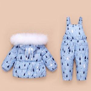 2019 nouvelle veste jeu pour enfants en bas jacketSuspender vers le bas pantalon ensemble bébé veste deux pièces jarretelle costume pliable
