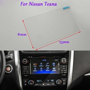 Internal Accessories 7 inch Car GPS Navigation Screen HD Glass Protective Film For Nissan Teana