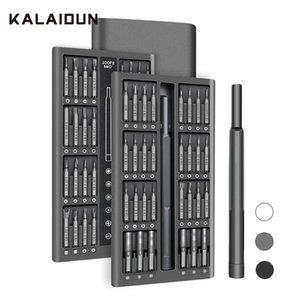 KALAIDUN Screwdriver Set 63 In 1 Precision Screw Driver Torx Bit Magnetic Hex Phillips Bits Mobile Phone Laptop Repair Tools Kit T200602